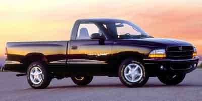 1997 dodge dakota weight
