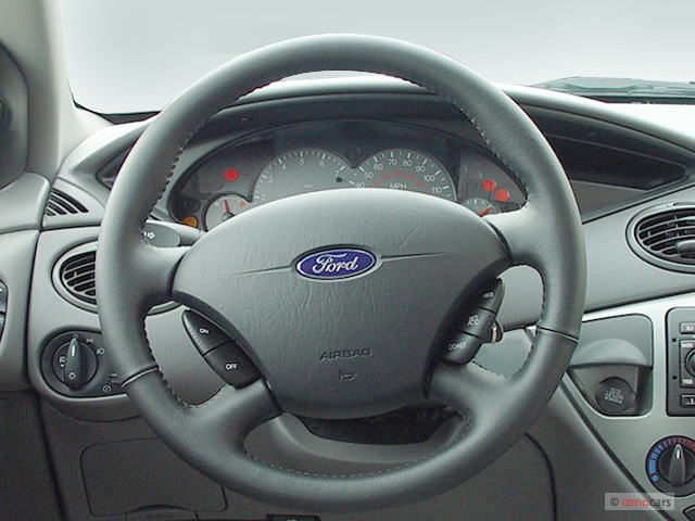 Image 2003 Ford Focus 4 Door Wagon Ztw Steering Wheel