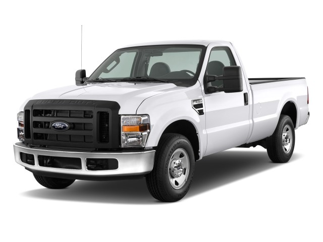 """2009 Ford Super Duty F-250 2WD Reg Cab 137"""" XL Angular Front Exterior View"""