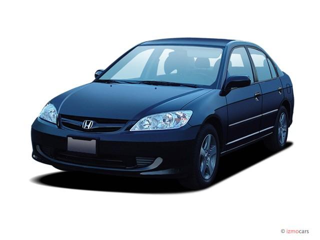 2005 Honda Civic Sedan EX AT SE Angular Front Exterior View
