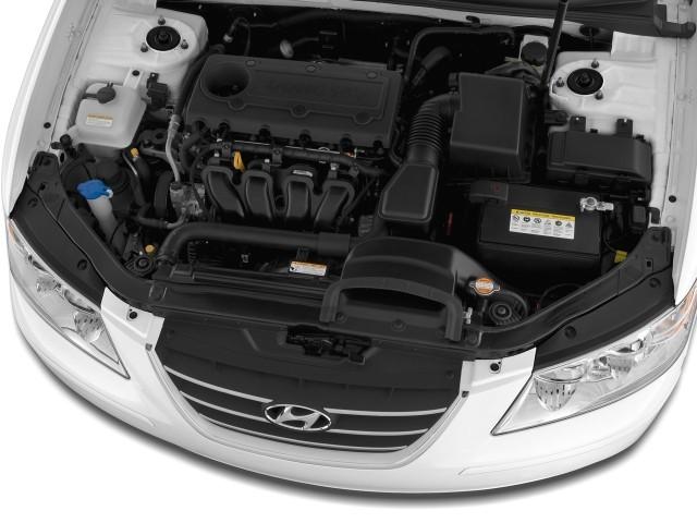 Image 2009 Hyundai Sonata 4 Door Sedan I4 Auto Gls Engine