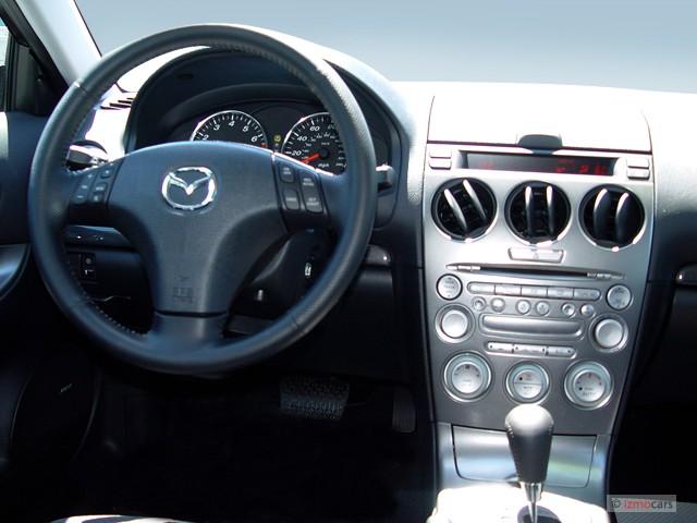 Image: 2005 Mazda MAZDA6 5dr Sport Wagon s Auto Dashboard ...