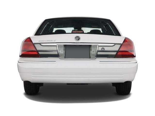 2008 Mercury Grand Marquis 4-door Sedan LS Rear Exterior View