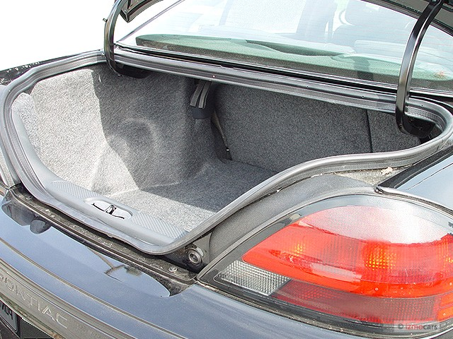 Image 2003 Pontiac Grand Am 4 Door Sedan Gt1 Trunk Size