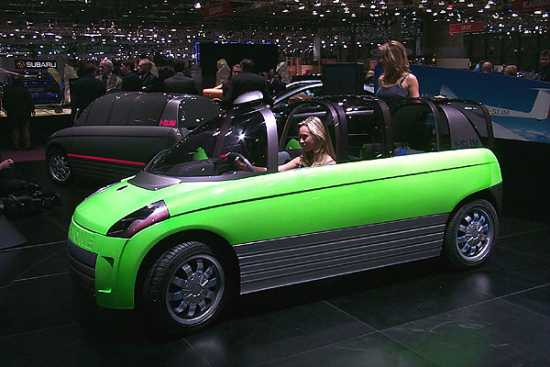 2000 Bertone Slim concept, Geneva Auto Show