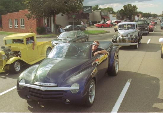 2000 Chevrolet SSR concept Wagoner
