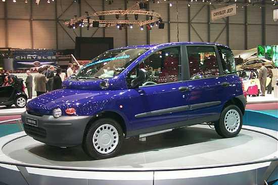 2000 Fiat Multipla concept, Geneva Auto Show