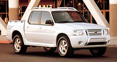 2000 Ford Artic Explorer Sport Trac Concept