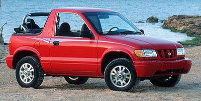 2000 Kia Sportage 2-door