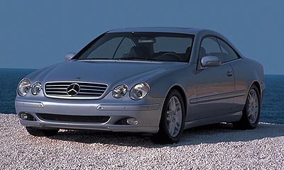 2000 Mercedes CL Coupe