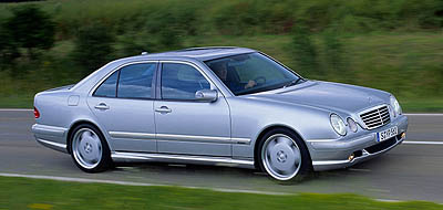 2000 Mercedes E55