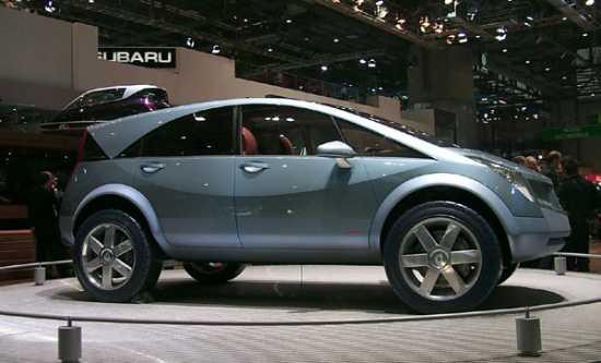 2000 Renault Kolios concept