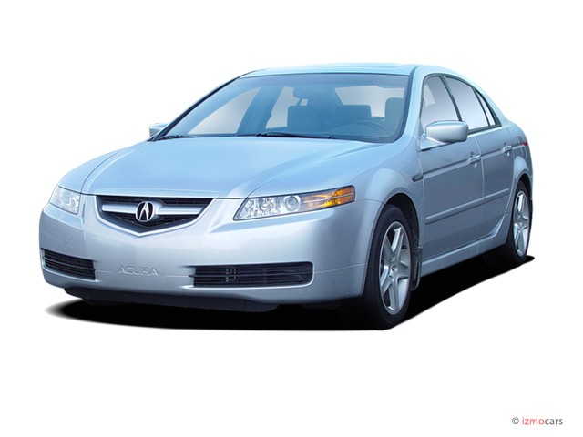 image 2005 acura tl 4 door sedan at navigation system. Black Bedroom Furniture Sets. Home Design Ideas