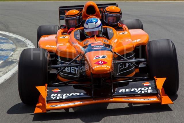2001 Arrows AX3 3-seater F1 race car for sale