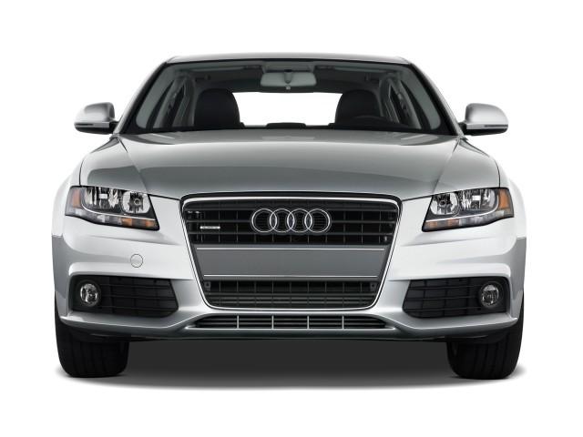 2010 Audi A4 4-door Sedan Auto 2.0T quattro Premium Front Exterior View