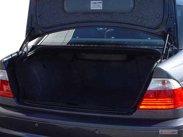 2005 BMW 3 Series M3 2 Door Convertible Trunk