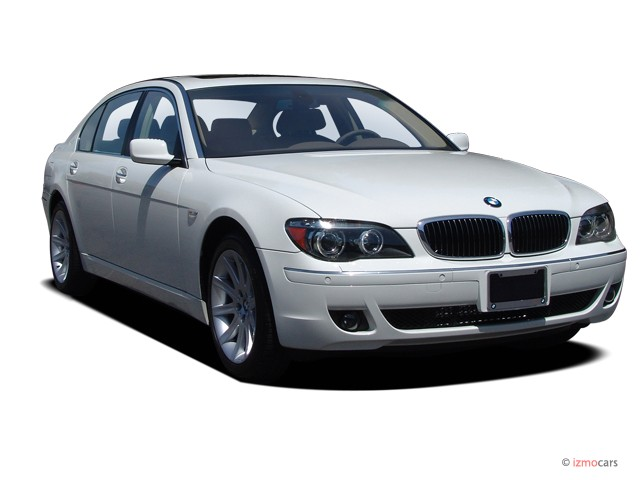 2006 BMW 7-Series 750Li 4-door Sedan Angular Front Exterior View
