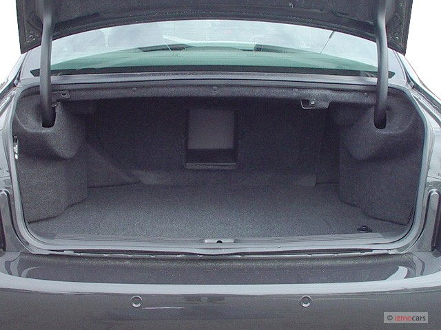 Image: 2003 Cadillac DeVille 4-door Sedan DTS Trunk, size ...