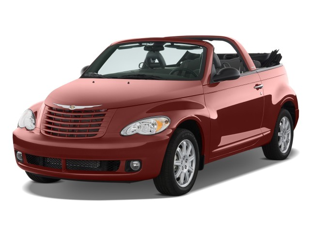 2008 Chrysler PT Cruiser 2-door Convertible Angular Front Exterior View