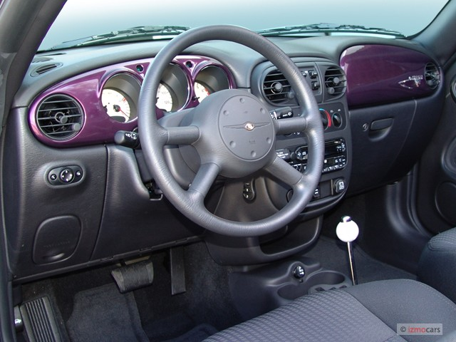 2006 Chrysler Pt Cruiser 2 Door Convertible Touring Dashboard