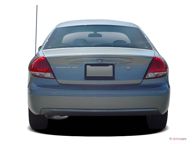 Image: 2005 Ford Taurus 4-door Sedan SE Rear Exterior View ...