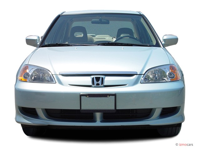image 2003 honda civic 4 door sedan hybrid manual front. Black Bedroom Furniture Sets. Home Design Ideas