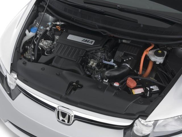 2008 Honda Civic Hybrid 4 Door Sedan Engine