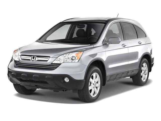 2008 Honda CR-V 2WD 5dr EX Angular Front Exterior View