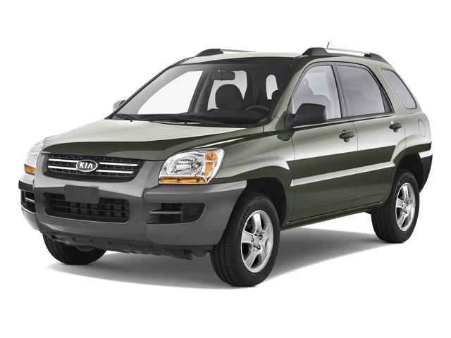 2008 Kia Sportage 2WD 4-door I4 Auto LX Angular Front Exterior View