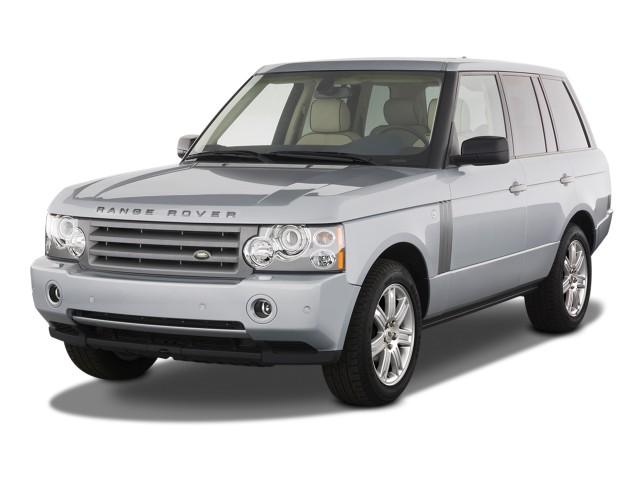2009 Land Rover Range Rover 4WD 4-door HSE Angular Front Exterior View