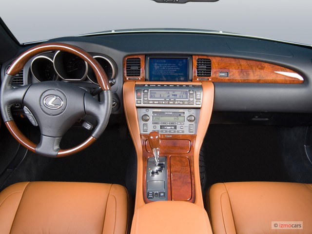 Image: 2006 Lexus SC 430 2-door Convertible Dashboard, size: 640 x ...