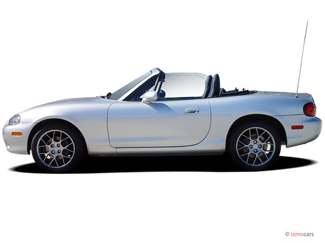 2004 Mazda MX 5 Miata 2 Door Convertible LS 5 Spd Manual Side Exterior View