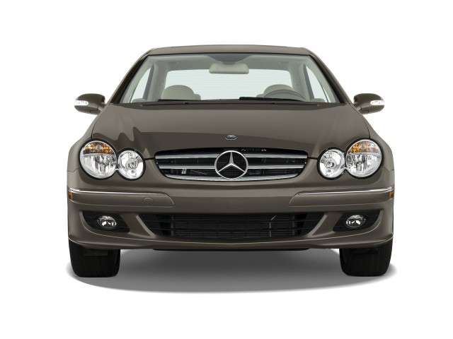 image 2009 mercedes benz clk class 2 door coupe 3 5l front exterior view size 640 x 480 type. Black Bedroom Furniture Sets. Home Design Ideas