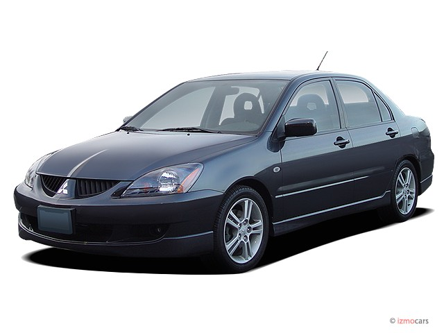 2004 Mitsubishi Lancer 4-door Sedan Ralliart Auto Angular Front Exterior View