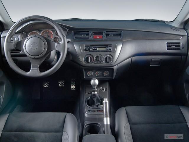 image  mitsubishi lancer  door sedan evolution  edition manual dashboard size