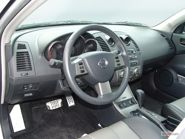 Image: 2006 Nissan Altima 4-door Sedan 3.5 SE-R Auto Dashboard, size ...