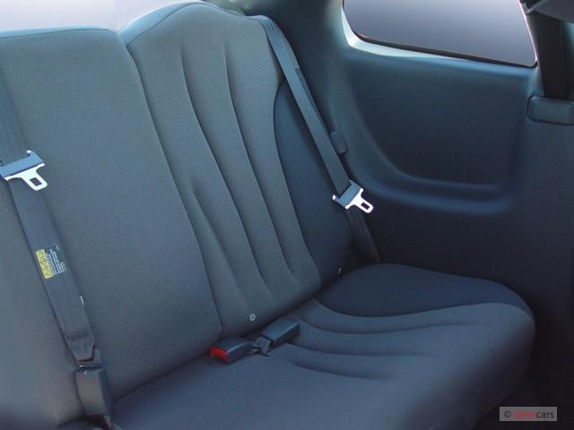 Image 2005 Pontiac Sunfire 2 Door Coupe Rear Seats Size