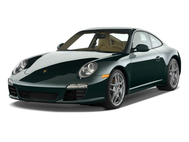 2009 Porsche 911 Carrera 2-door Coupe S Angular Front Exterior View
