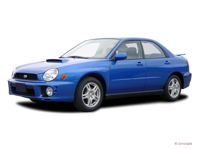 2003 Subaru Impreza 4-door Sedan WRX Manual Angular Front Exterior View