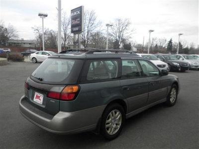 2001 Subaru Outback used car