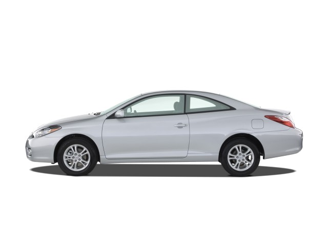 2008 Toyota Camry Solara 2 Door Coupe V6 Auto SE (Natl) Side Exterior View