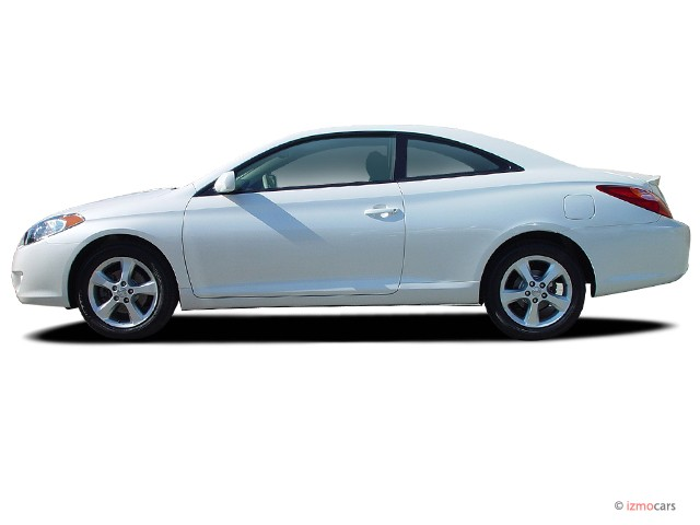 Perfect 2006 Toyota Camry Solara 2 Door Coupe SLE V6 Auto (Natl) Side Exterior View