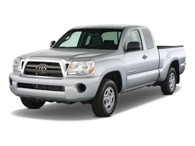 2009 Toyota Tacoma 2WD Access I4 AT (Natl) Angular Front Exterior View