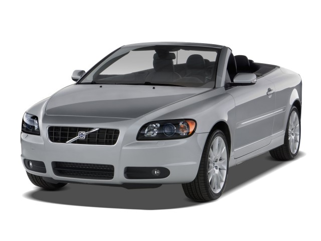 2009 Volvo C70 2-door Convertible Auto Angular Front Exterior View