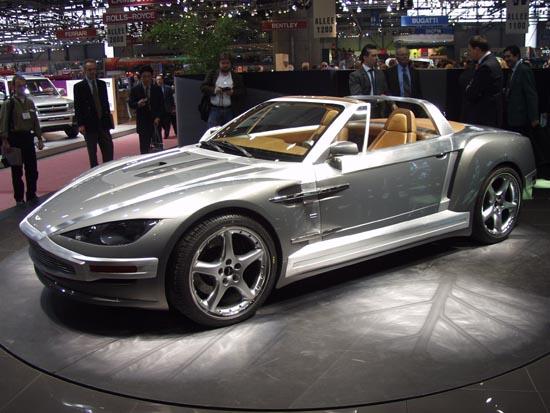 2001 Aston Martin Vanquish concept