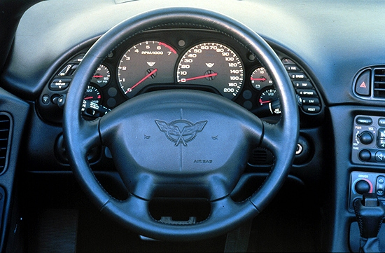 Image 2001 Chevrolet Corvette Z06 Dash Size 550 X 361