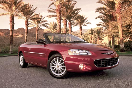 2001 Chrysler Sebring Convertible Review Ratings Specs Prices And Photos The Car Connection