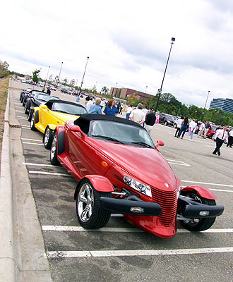 2001 Dream Cruise Prowlers
