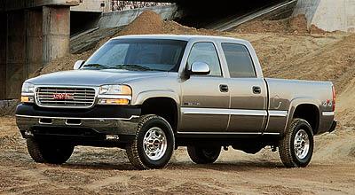2001 GMC Sierra HD