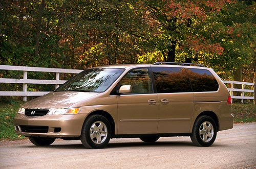 2001 Honda Odyssey Review Ratings Specs Prices And Photos The Car Connection